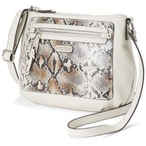 Dana Buchman Kristi Crossbody Bag (Beige/Khaki)